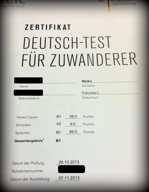 Тесты на экзамен по немецкому языку на а1
